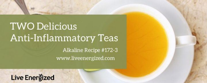 anti-inflammatory teas