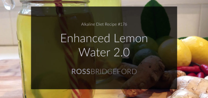 enhanced lemon water!