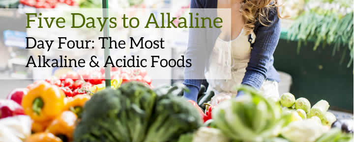 Five Days to Alkaline: Day Four - Alkaline Foods
