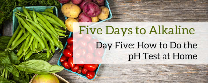 Five Days to Alkaline: Day Five pH Test