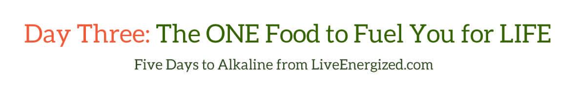 Five Days to Alkaline: Day Three