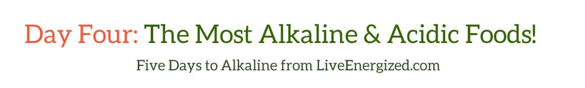 Five Days to Alkaline: Day 4