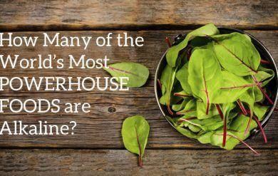 Powerhouse Alkaline Foods Header