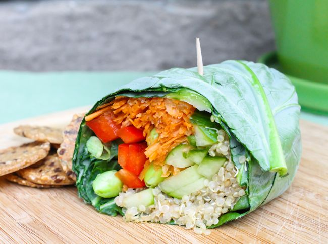 ... Recipe #180: Wheat-Free Quinoa and Hummus Wraps - Live Energized