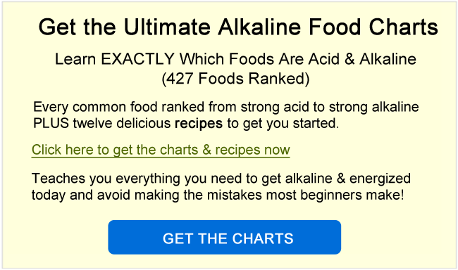 get the alkaline food chart