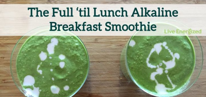 Image of full til lunch smoothie