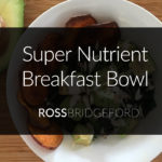 alkaline breakfast bowl