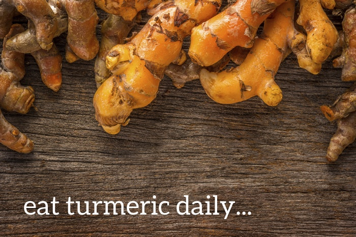 Eat Turmeric Daily