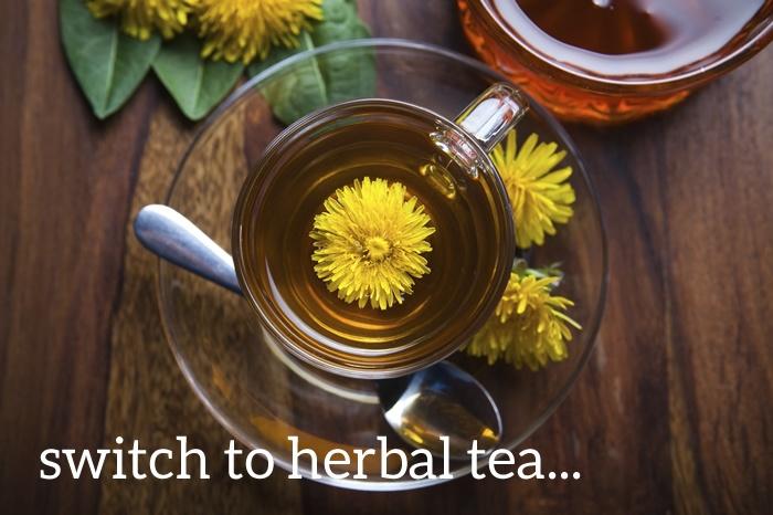Liver herbs in tea