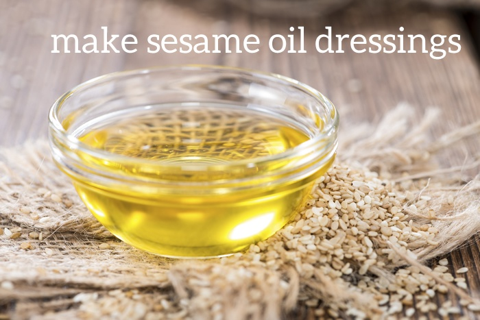 Sesame Oil Dressings for Liver Function