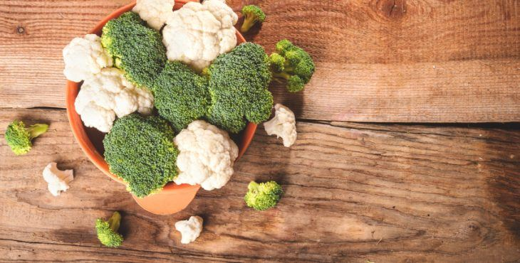 alkaline diet proof - broc and cauli image