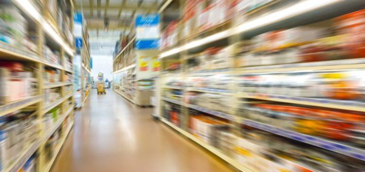image of supermarket in france