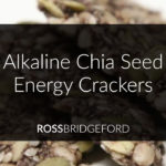 Alkaline Chia Seed Energy Crackers