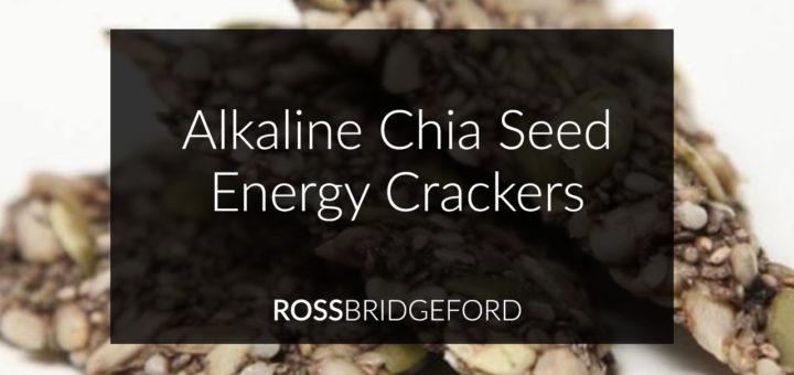 Alkaline Chia Seed Energy Crackers
