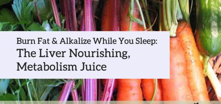 Juice Recipe: Burn Fat While You Sleep