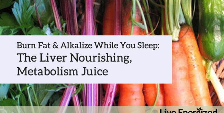 Juice Recipe: Burn Fat While You Sleep
