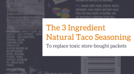 taco seasoning toxins