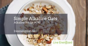 Image of the alkaline oat recipe