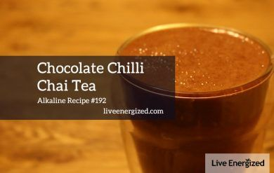 chocolate cacao chai tea recipe