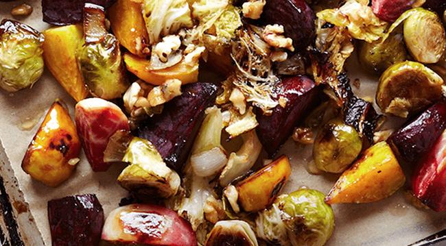 roast vegetables with turmeric