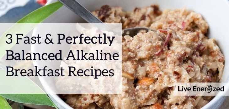 perfectly balanced breakfast recipes