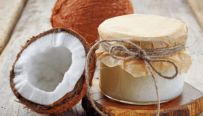 coconut oil helps balance hormones