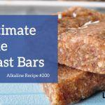 No Bake Breakfast Bars Recipe