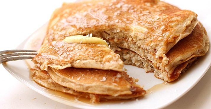 buckwheat and pumpkin gluten free pancakes