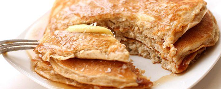 buckwheat and pumpkin breakfast pancakes