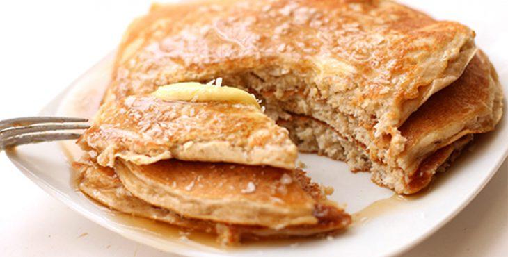 buckwheat and pumpkin gluten free pancakes