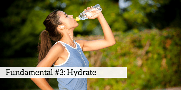 hydrate daily