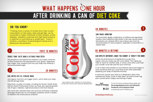 Coke Infographic