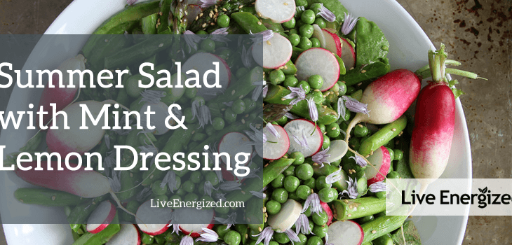 Alkaline Summer Salad Main Image