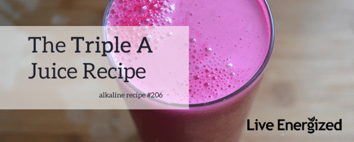Triple A Juice Recipe Image