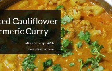 Roast Cauliflower & Turmeric Masala Curry
