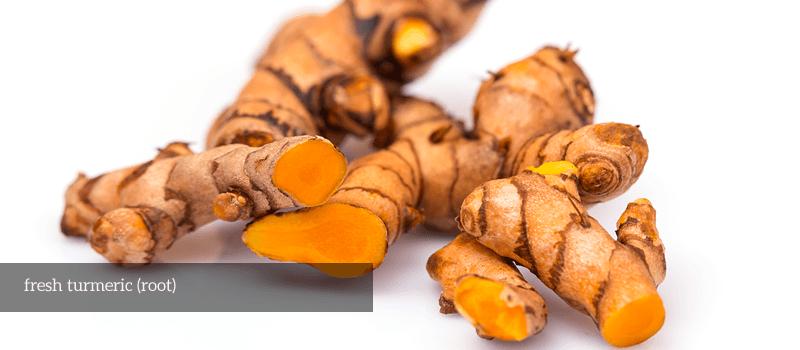 fresh turmeric (root turmeric)