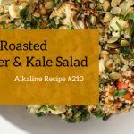 turmeric roasted cauliflower salad