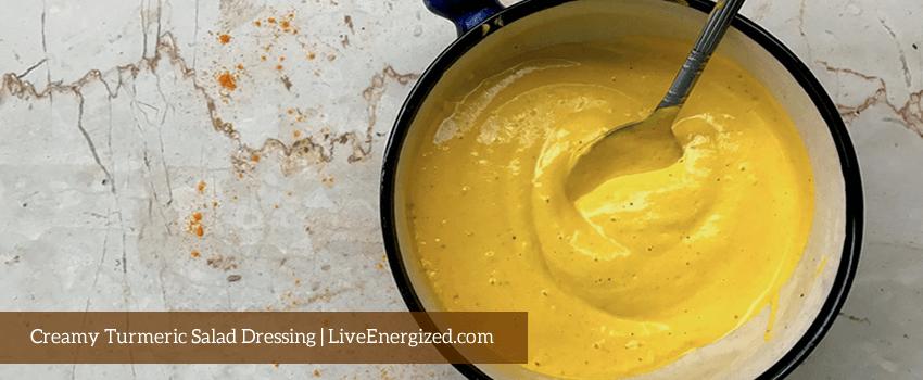 creamy turmeric dressing recipe