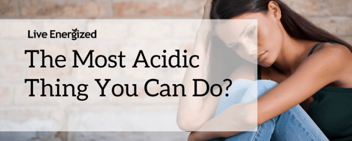 acidic stress cortisol thing