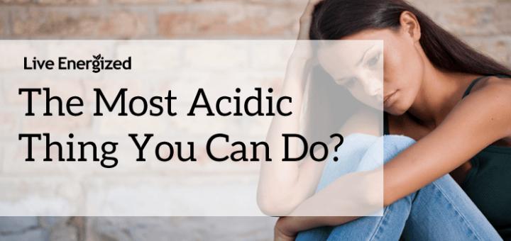 acidic stress cortisol thing