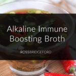 Asparagus Ginger Immune Boosting Broth