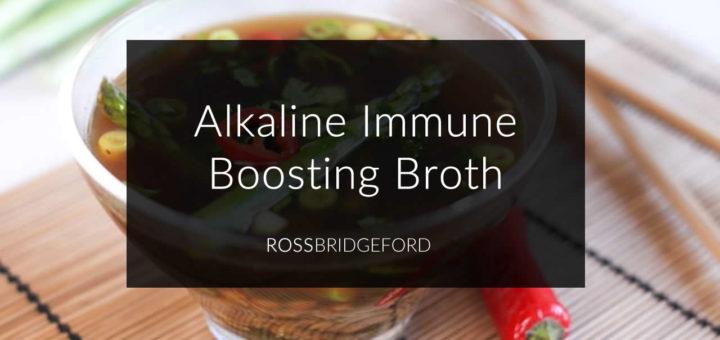 Asparagus Ginger Immune Boosting Broth