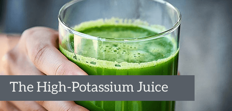 high-potassium juice title
