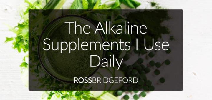 alkaline diet supplements guide