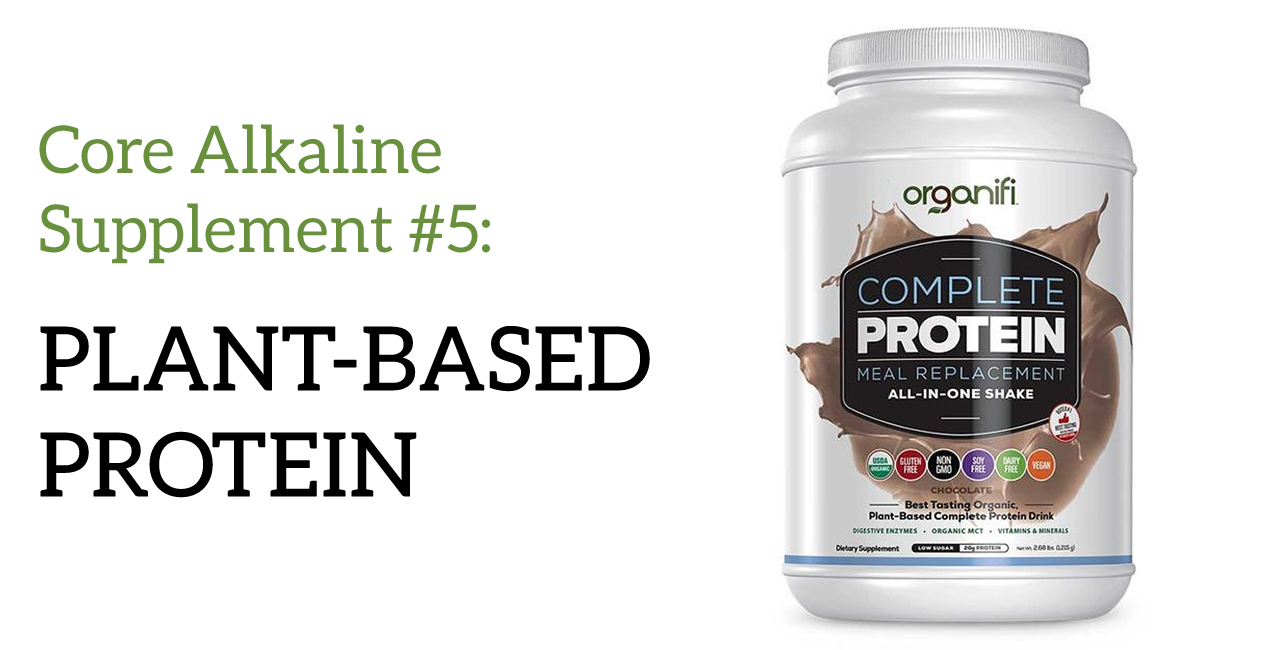 alkaline supplement plant based protein
