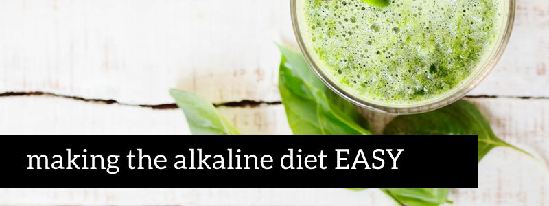 alkaline diet made easy