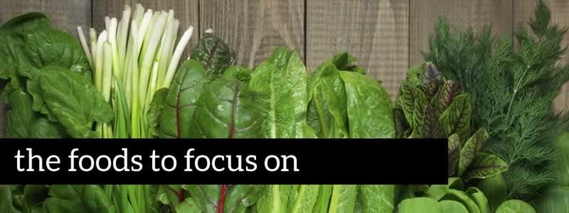 alkaline foods to focus on