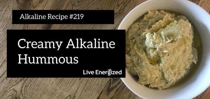 creamy alkaline hummous recipe