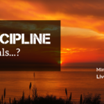 Discipline equals...