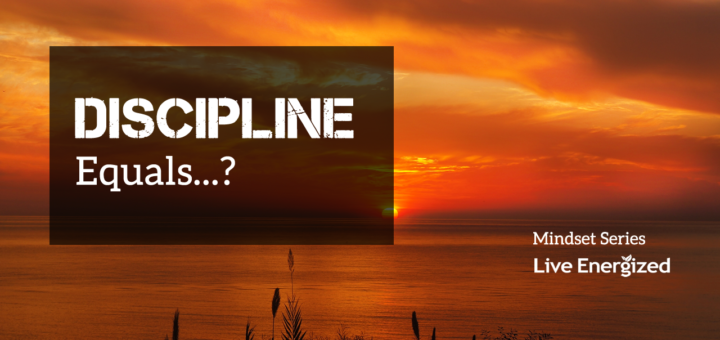 Discipline equals...